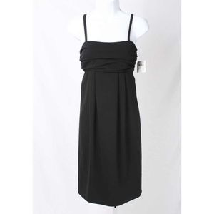 Moschino Cheap & Chic Black Empire Waist Dress NWT
